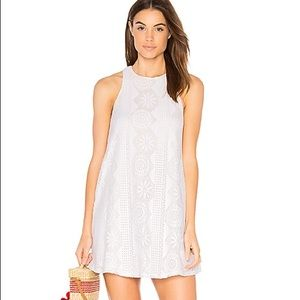 SHOW ME YOUR MUMU DRESS Ritzy Small S White Lace